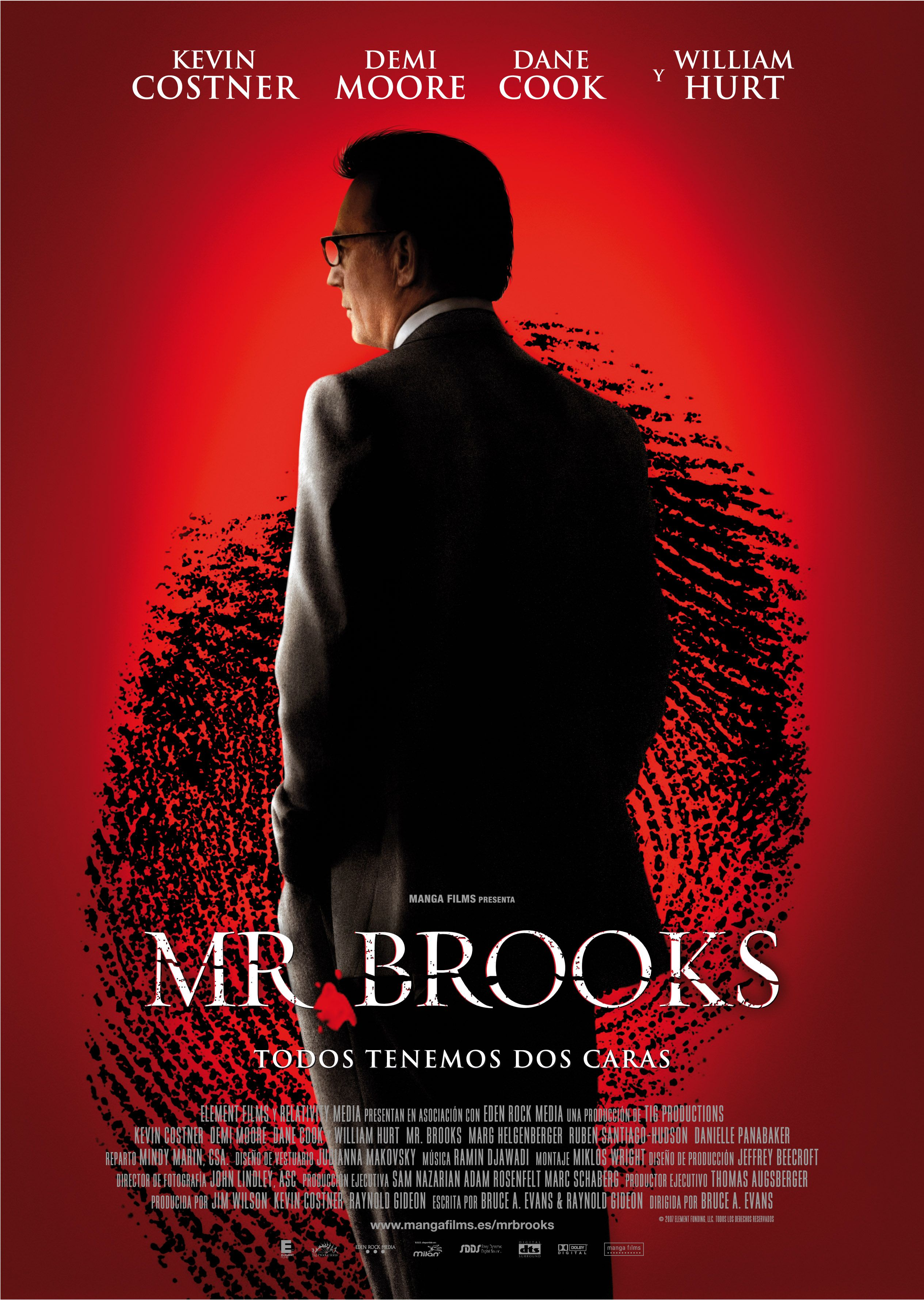 Sábias palabras del psicópata Señor Brooks
