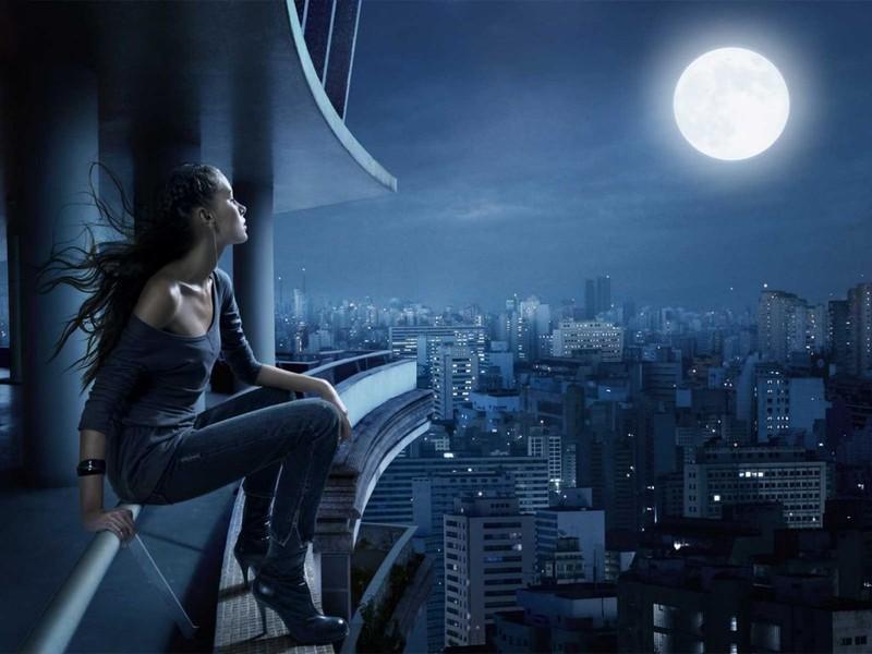 Apunta a la luna…