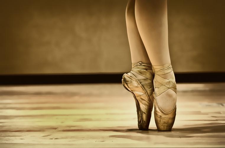 La bailarina de ballet