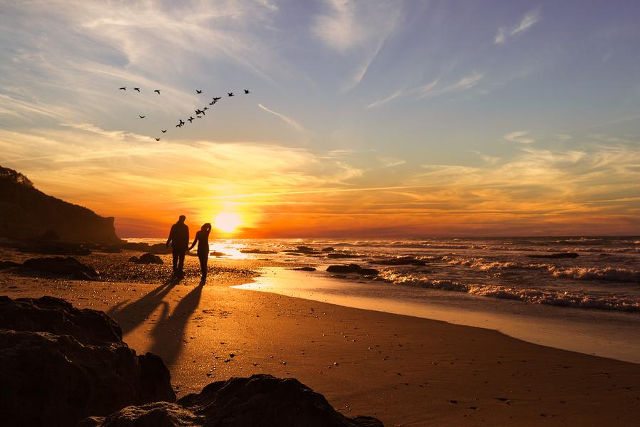 Resultado de imagen para Un amanecer en la playa