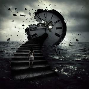 reloj-mujer-escalera-oceano