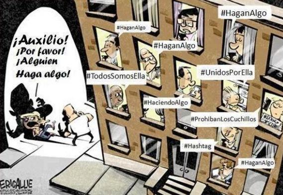 Solidaridad en las redes sociales