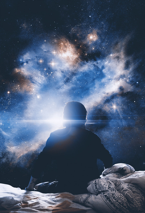 silueta-hombre-sabanas-cama-universo